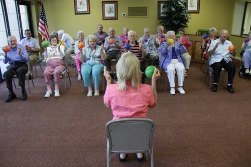 Rome Seniors Find Ways to Stay Fit