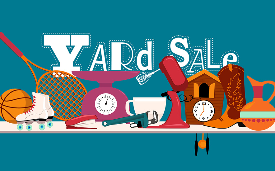 Annual Alzheimer's Yard Sale