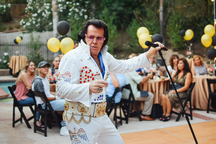 Independent senior living at Riverwood means you will get to enjoy Elvis perform and have some fun.