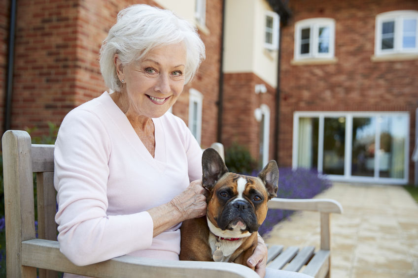 Our memory care services at Regency Rome incorporate pet therapy which can help diminish the stress, loneliness, and agitation associated with dementia and other memory conditions.