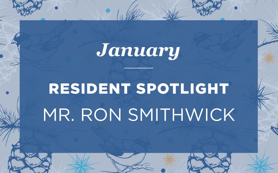 Mr. Ron Smithwick